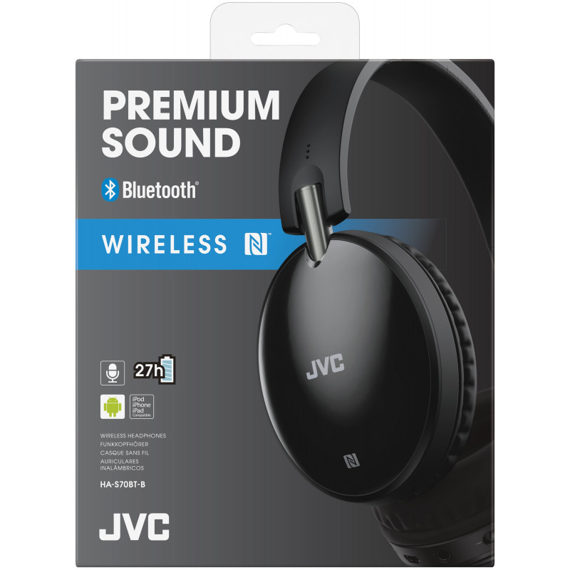 Casque bluetooth JVC HAS70BTBE