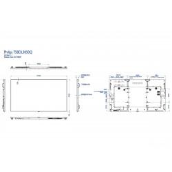 Moniteurs LED/OLED PHILIPS 75BDL3050Q/00