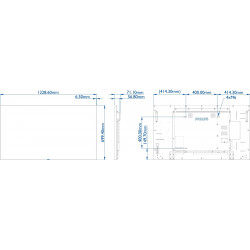 Moniteurs LED/OLED PHILIPS 55BDL5055P/00