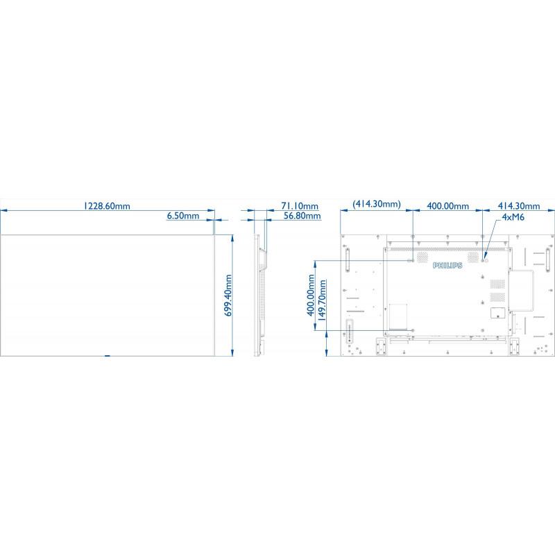 Moniteurs LED/OLED PHILIPS 55BDL5057P/00