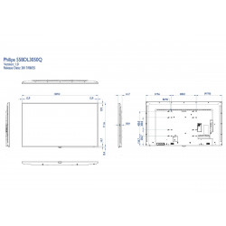 Moniteurs LED/OLED PHILIPS 55BDL3050Q/00