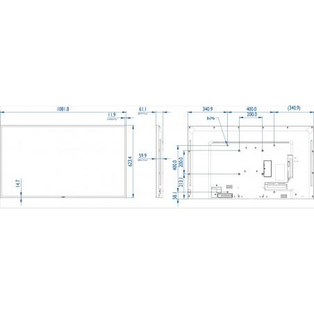 Moniteurs LED/OLED PHILIPS BDL4830QL/00