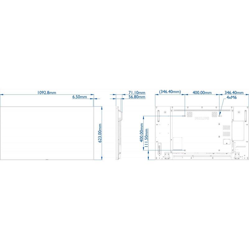 Moniteurs LED/OLED PHILIPS 49BDL5057P/00