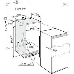 Réfrigérateur MIELE K35222ID