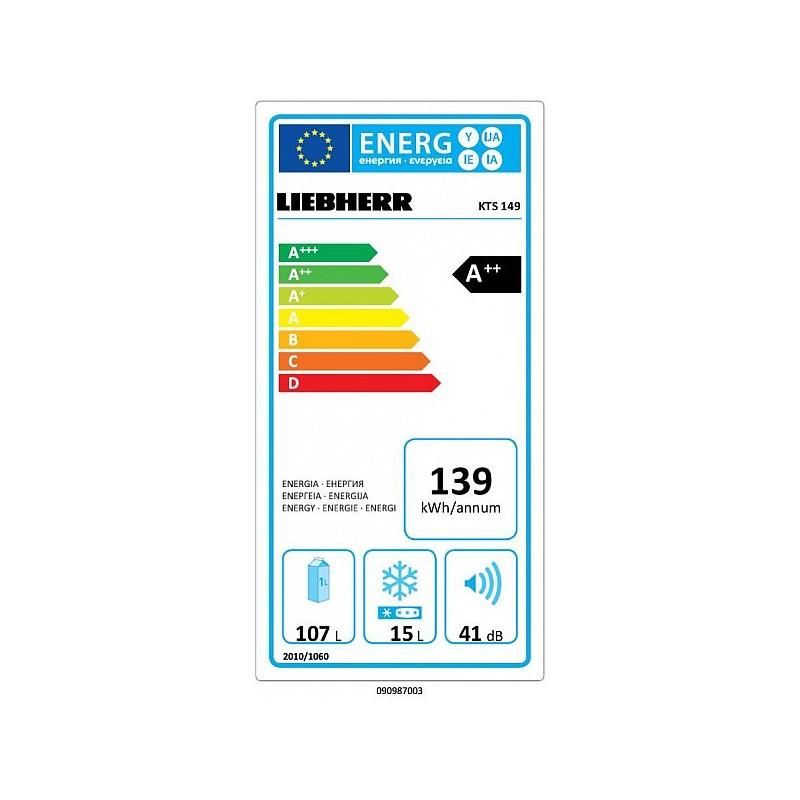 Réfrigérateur LIEBHERR KTS 149