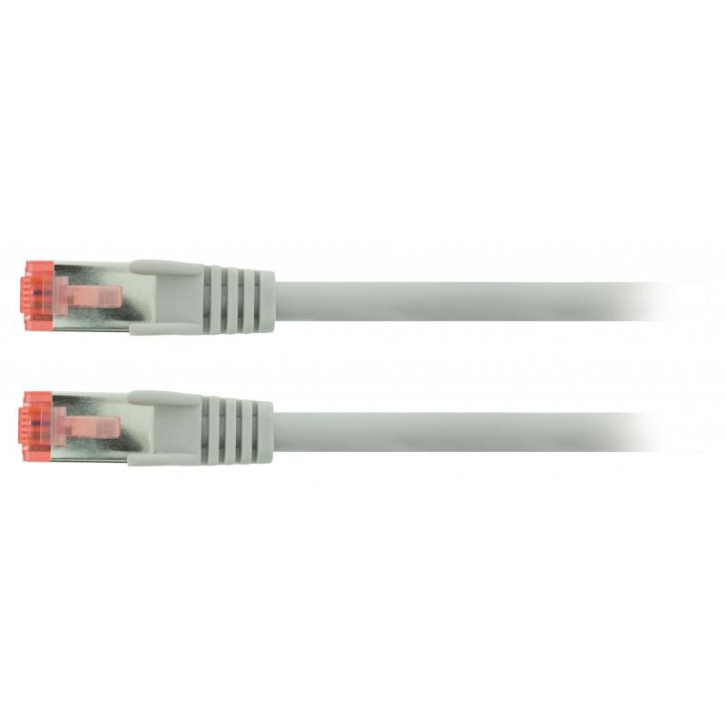 Câbles informatiques Valueline VLCP85221E05 câble de réseau 0,5 m Cat6 S/FTP (S-STP) Gris