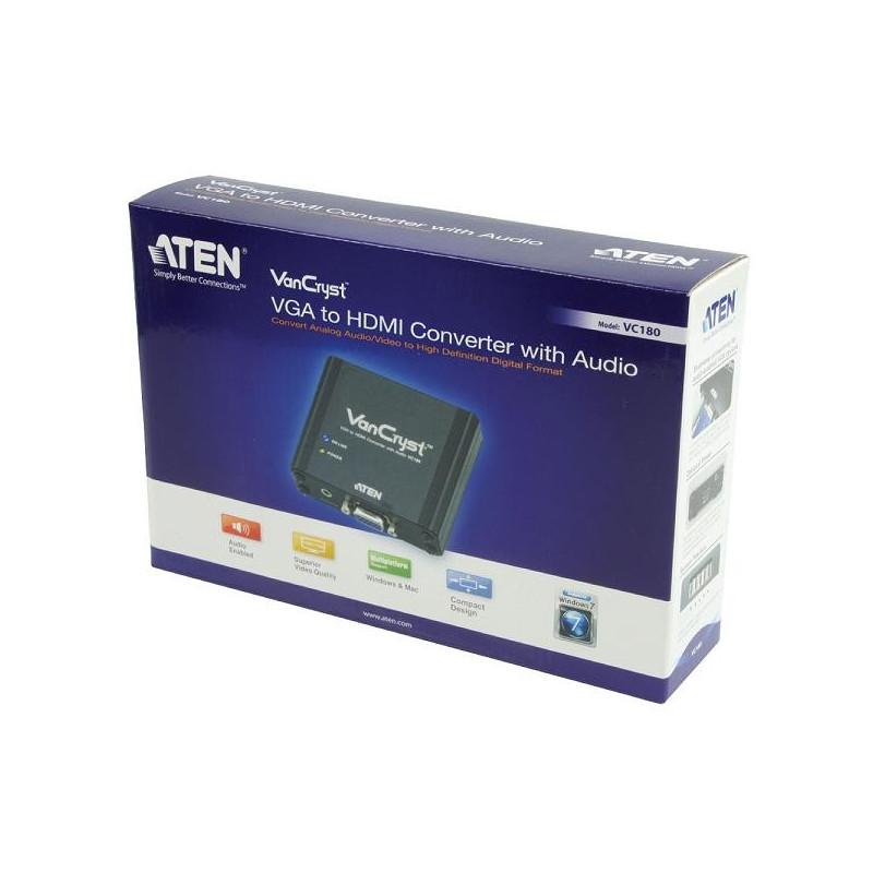 Interface distributeurs/transmetteurs ATEN VC180 AT-G