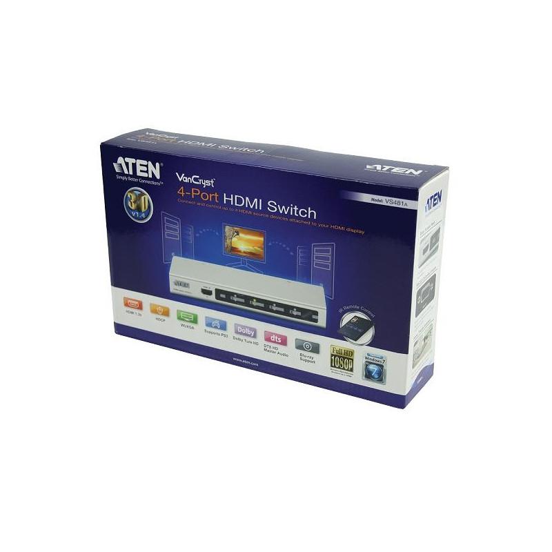 Interface distributeurs/transmetteurs ATEN VS481A