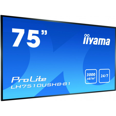 Moniteurs LED/OLED IIYAMA LH7510USHB-B1