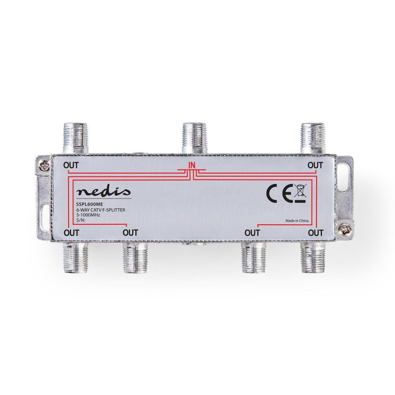 Câbles antenne NEDIS SSPL600ME