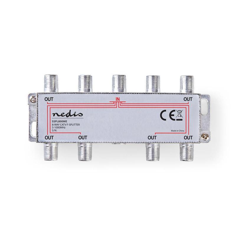Câbles antenne NEDIS SSPL800ME