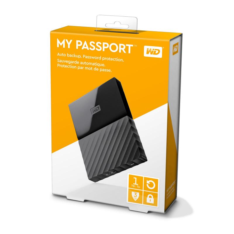 Disque Dur Externe WESTERN DIGITAL MY PASSPORT 1TO