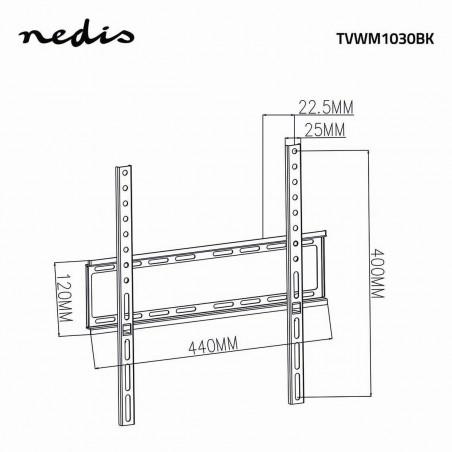 Supports TV NEDIS TVWM1030BK