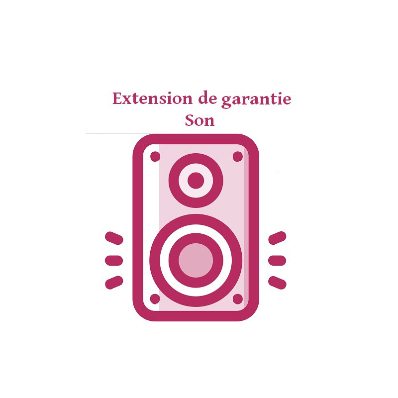 Prestations EXTENSION GARANTIE SON501-750
