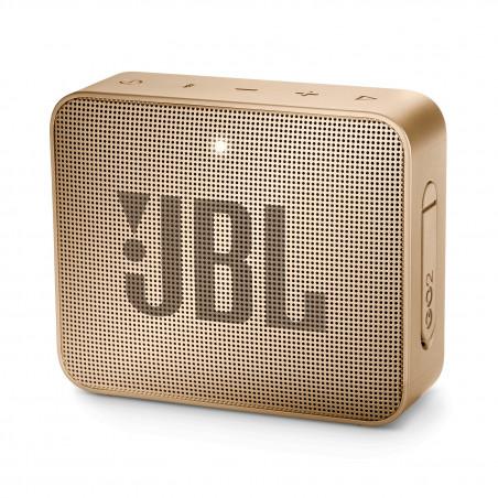 Bluetooth / Sans fil JBL GO 2 CHAMPAGNE