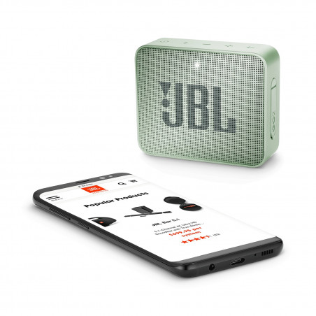 Bluetooth / Sans fil JBL GO 2 VERT MENTHE