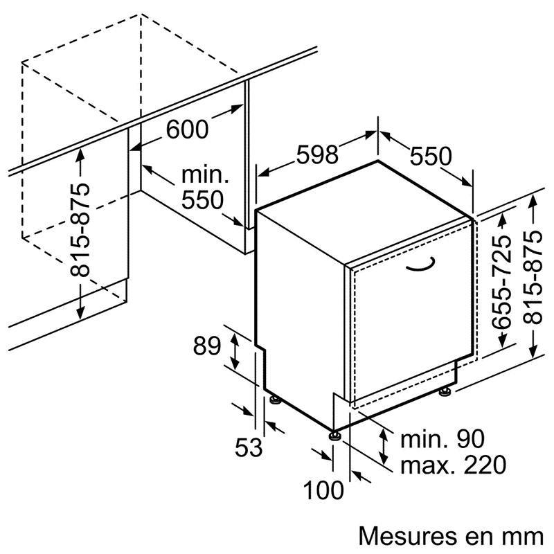 Lave Vaisselle BOSCH SMV46NX03E