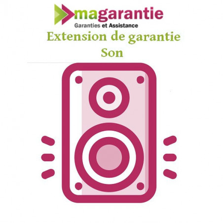 Prestations EXTENSION GARANTIE SON501-750