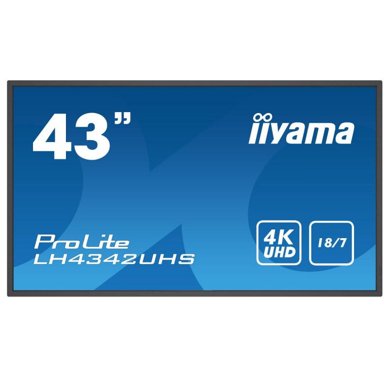 Moniteurs LED/OLED IIYAMA LH4342UHS-B1