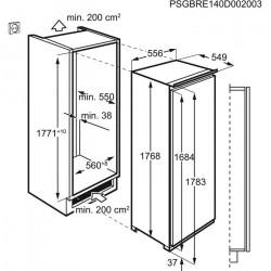 Réfrigérateur AEG SKE818E1DC