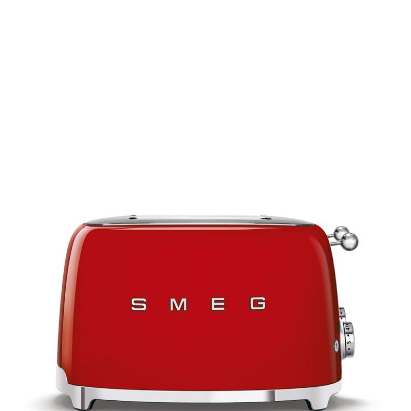 Grille pain SMEG TSF03RDEU ROUGE