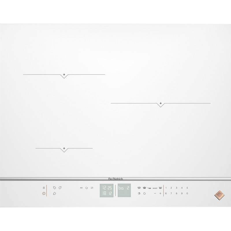 Plaque de cuisson DE DIETRICH DPI7572W