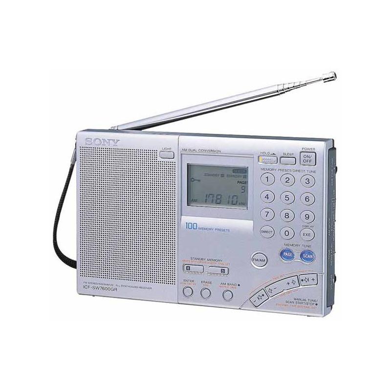 Radio SONY ICF-SW7600GR