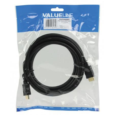 Câbles vidéo VALUELINE VGVP34000B30