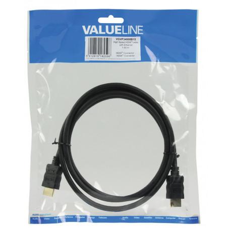 Câbles vidéo VALUELINE VGVP34000B15