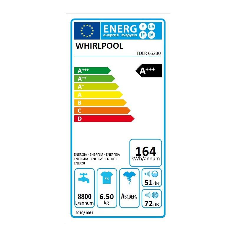 Lave Linge WHIRLPOOL TDLR65230