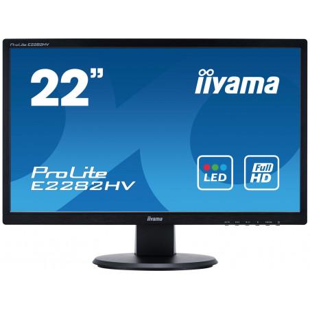 "iiyama ProLite E2282HV 21.5"" Full HD TN Noir écran plat de PC"
