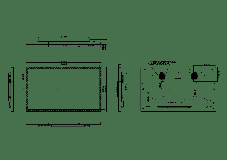 IIYAMA TF4338MSC-B2AG