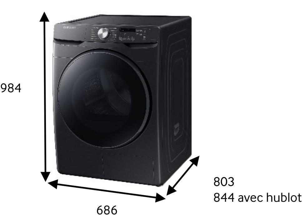 SAMSUNG DV16T8520BV/EF
