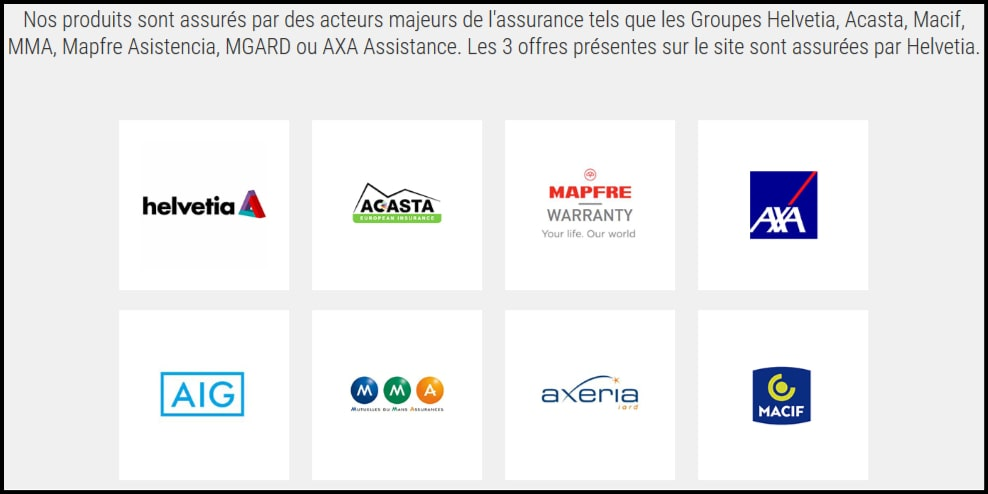 Partenaires magarantie.com
