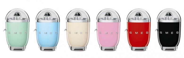 Couleurs disponible SMEG CJF01PKEU