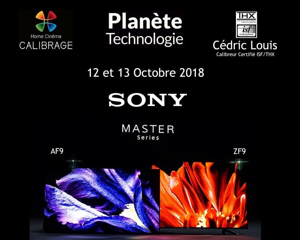 Evènements Planète Technologie Calibration Sony