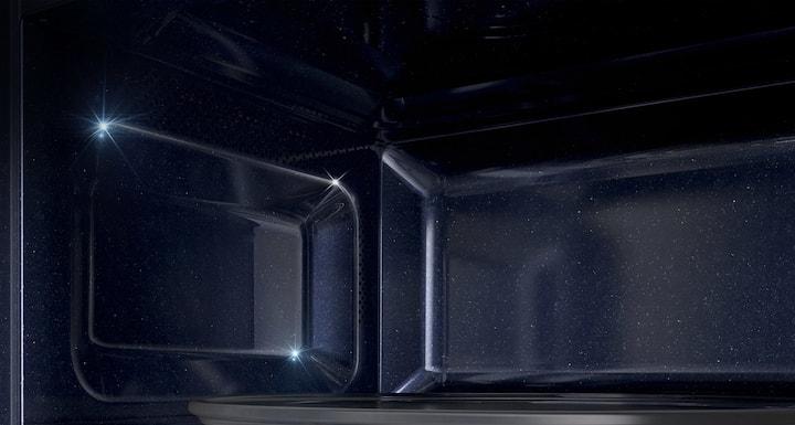 SAMSUNG MS23K3515AK Cavité céramique émail