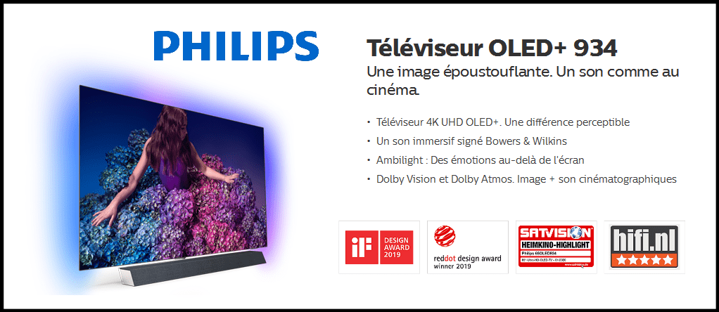 TV PHILIPS 55-65OLED934